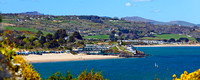 Panoramic shape photos of Abersoch and Llyn