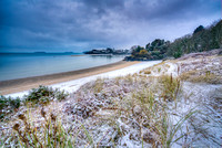 Abersoch snow Warren beach,SNFWB
